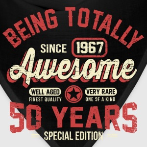 50 Years Of Being Awesome T-Shirts - Bandana