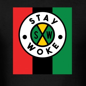 Stay WOKE Sportswear - Men's T-Shirt