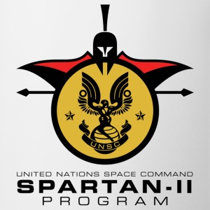 UNSC Spartan-II Program light mens shirt - Coffee/Tea Mug