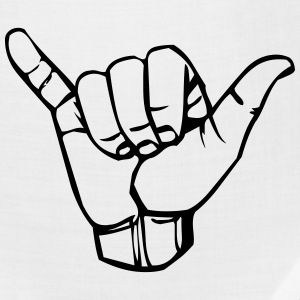 Sign language Y, hang loose - Bandana