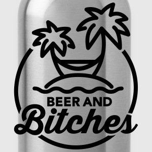 Beer and Bitches T-Shirts - Water Bottle