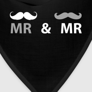 Mr & Mr Gay Couple T Shirt T-Shirts - Bandana