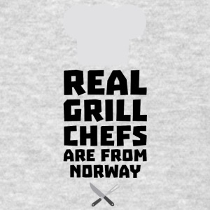 Real Grill Chefs are from Norway S8cv1 Sportswear - Men's T-Shirt