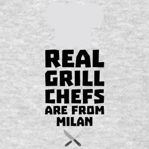 Real Grill Chefs are from Milan Sua46 Sportswear - Men's T-Shirt