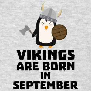 Vikings are born in September Szu23 Sportswear - Men's T-Shirt