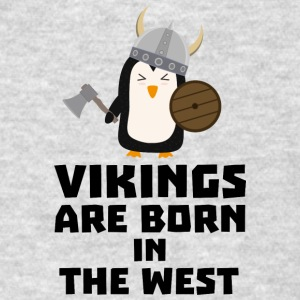 Vikings are born in the West S27vo Sportswear - Men's T-Shirt