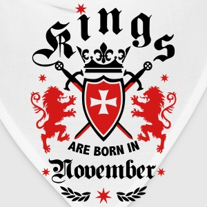 Kings November King Lions Knight Shield Birthday T - Bandana