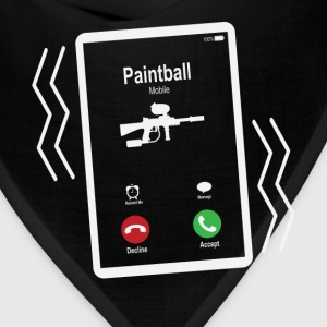 Paintball Mobile is Calling Mobile T-Shirts - Bandana