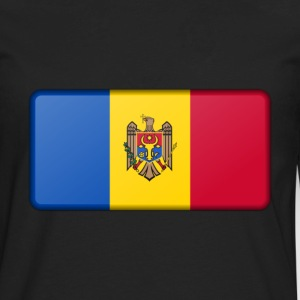 Moldova Flag - Men's Premium Long Sleeve T-Shirt