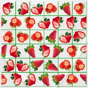 Strawberries pattern - Bandana