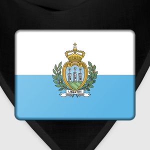 San Marino Flag Other - Bandana