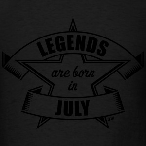 Legends are born in July (Birthday Present Gift) Sportswear - Men's T-Shirt