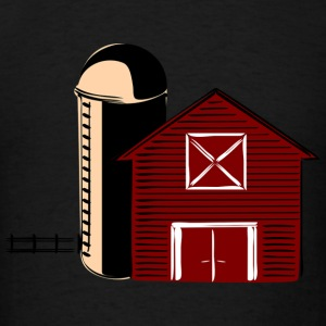 Barn With Silo Sportswear - Men's T-Shirt