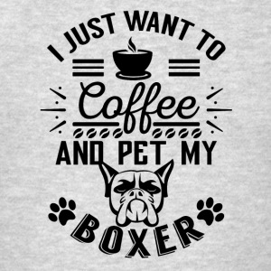 Coffee and pet my boxer Sportswear - Men's T-Shirt