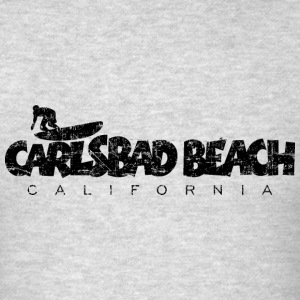 CARLSBAD BEACH CALIFORNIA Surf Design Sportswear - Men's T-Shirt