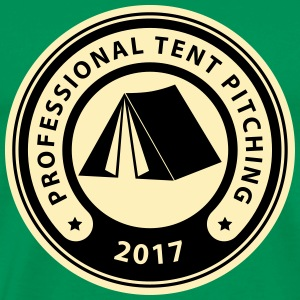 Professional Tent Pitching Logo Hoodies - Men's Premium T-Shirt
