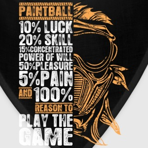 Paintball Play The Game - Bandana
