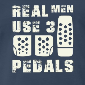 Real men use 3 pedals Sportswear - Men's Premium T-Shirt