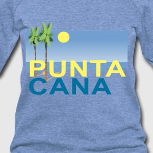 punta_cana_sunset_racerback_tank_top_ - Women's Wideneck Sweatshirt