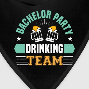 Bachelor Drinking Team T-Shirts - Bandana