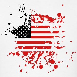 usa flag splat Sportswear - Men's T-Shirt