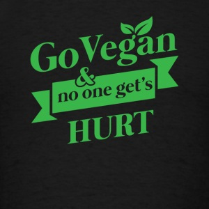 Go Vegan no one hurts Sportswear - Men's T-Shirt