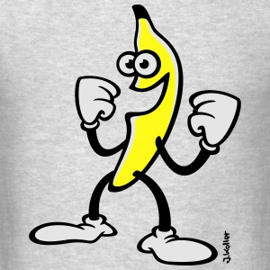 Happy Banana (Funny / Comic / SVG) Sportswear - Men's T-Shirt