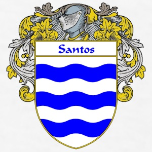 Santos Coat of Arms/Family Crest - Men's T-Shirt