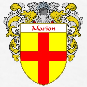 Marion Coat of Arms/Family Crest - Men's T-Shirt