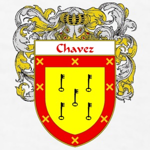 Chavez Coat of Arms/Family Crest - Men's T-Shirt