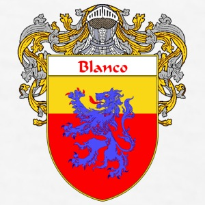 Blanco Coat of Arms/Family Crest - Men's T-Shirt