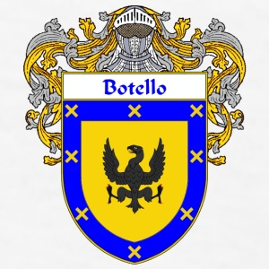 Botello Coat of Arms/Family Crest - Men's T-Shirt