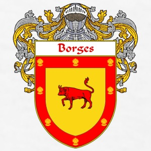 Borges Coat of Arms/Family Crest - Men's T-Shirt