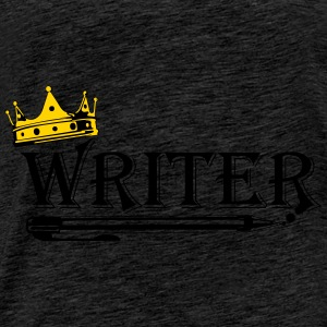 Crowned Writer - Men's Premium T-Shirt