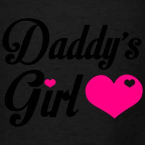 Daddy's Girl - Cute Girl Shirt Hoodies - Men's T-Shirt