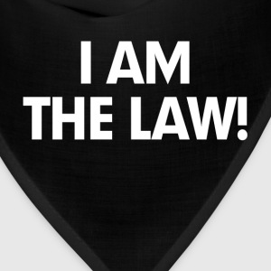 I Am The Law Hoodies - Bandana