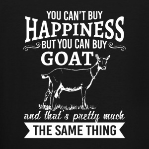 You can't buy happiness but you can buy goat  Baby & Toddler Shirts - Men's Tall T-Shirt