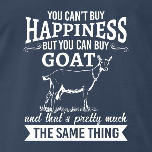You can't buy happiness but you can buy goat  Baby & Toddler Shirts - Men's Premium T-Shirt