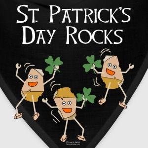 St. Patrick's Day Rocks Zip Hoodies/Jackets - Bandana