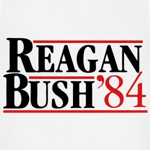 Reagan Bush '84 Long Sleeve Shirts - Adjustable Apron