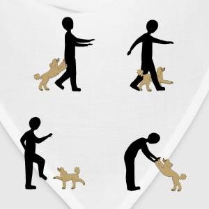 Dog Dancing 2 T-Shirts - Bandana
