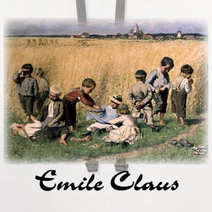 Emile Claus - On the Way to School  - Contrast Hoodie