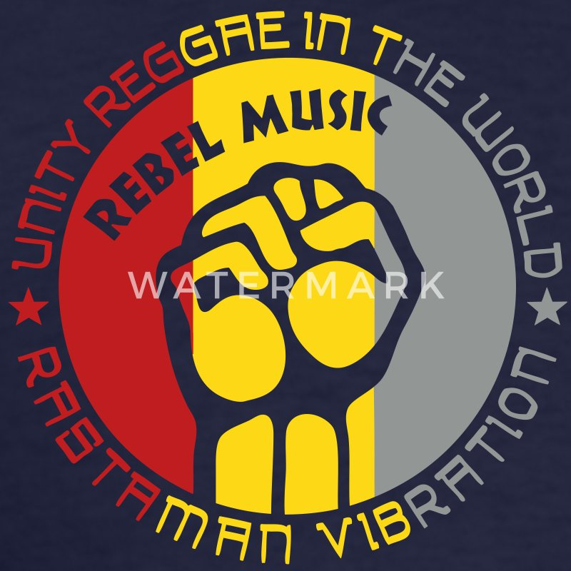 unity reggae in the world rastaman vibration T-Shirts - Men's T-Shirt