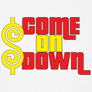 Come On Down Buttons - Men's T-Shirt