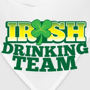 IRISH DRINKING TEAM St PATRICKS DAY Bottles & Mugs - Bandana