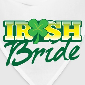 IRISH BRIDE shamrock ST PATRICKS  Bottles & Mugs - Bandana