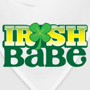 IRISH BABE shamrock cute girl sexy Bottles & Mugs - Bandana