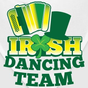 IRISH Dancing team with accordion and hat Bottles & Mugs - Bandana