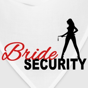 Bride Security Women's T-Shirts - Bandana