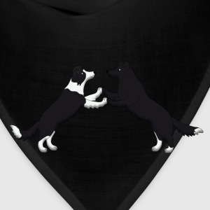 dancing border collie T-Shirts - Bandana